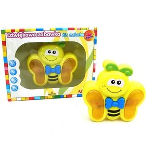 Motylek Zabawka Muzyczna Playme - Brimarex