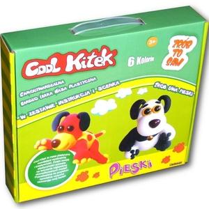 Cool Kitek Masa Plastyczna Pieski - Sellmar