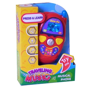 Interaktywny Telefon Dla Malucha - Playme