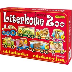 Układanka Literkowe Zoo - Adamigo
