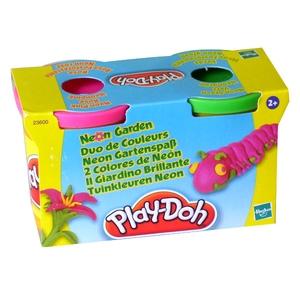 PlayDoh Tuby Neonowe 2 Sztuki - Hasbro