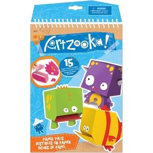 Artzooka Notes Origami Papierowe Potwory - Wooky