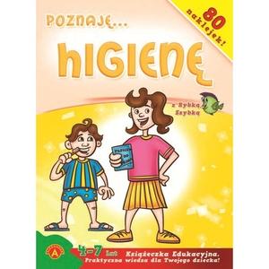 Książeczka Poznaję Higienę - Alexander
