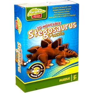 Puzzle 3D Model Stegozaurus - Grafix/Rms