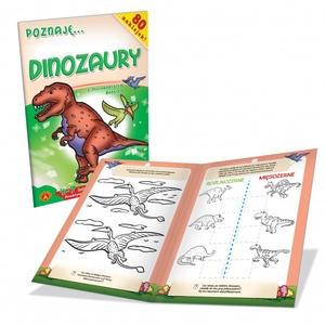 Książeczka Poznaję Dinozaury - Alexander