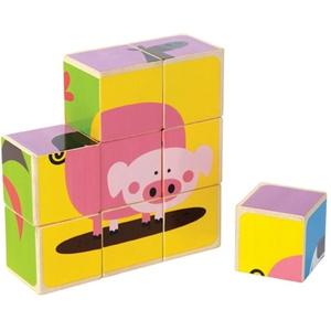 Puzzle Farma Zwierząt - Hape