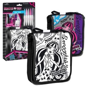 Monster High Torebka Z Klapą Do Malowania - Starpak