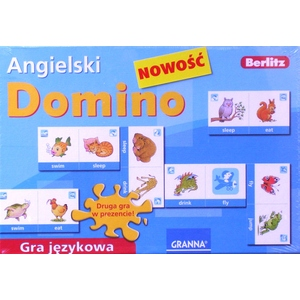 Domino Gra Językowa Angielski - Granna