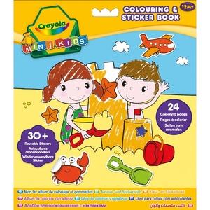 Kolorowanka Z Naklejkami - Crayola
