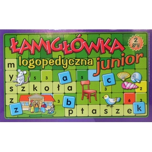 Łamigłówka Logopedyczna Junior - Samopol