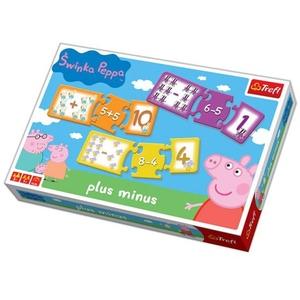 Gra Plus-Minus Świnka Peppa - Trefl