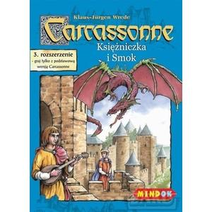 Gra Carcassonne Roz.3 Księżniczka I Smok - Bard