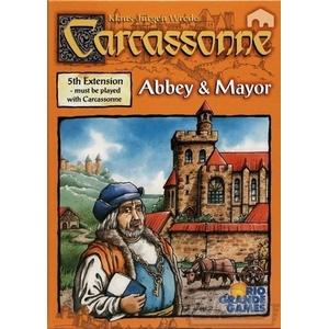 Gra Carcassonne Roz.5 Opactwo I Burmistrz