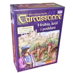 Gra Carcassonne Roz.6 Hrabia, Król - Bard
