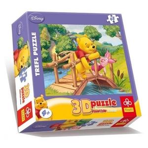 Puzzle 3D Disney Kubuś Puchatek - Trefl