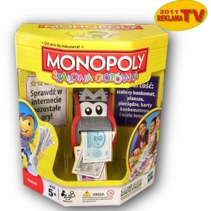 Monopoly Szalona Gotówka - Hasbro