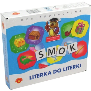 Gra Literka Do Literki - Alexander