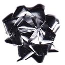 kokardka-srebrna