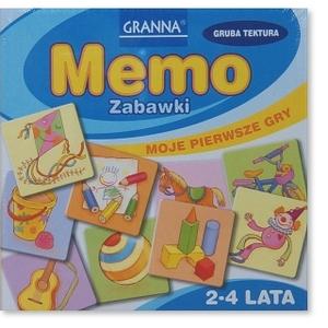 Gra Memo Zabawki - Granna