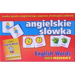 Memory Angielskie Słówka - Adamigo
