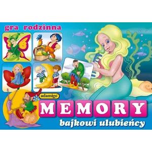 Gra Memory Bajkowi Ulubieńcy - Adamigo